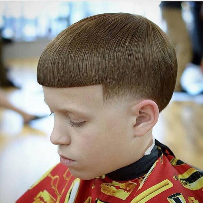 Причёски для мальчиков смотреть