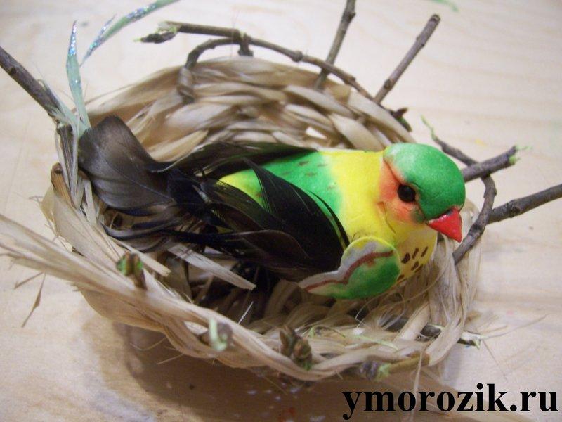 Птичка своими руками в
