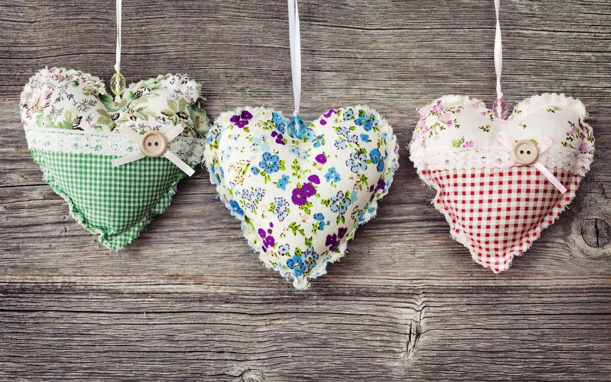 Сердце своими руками текстильное