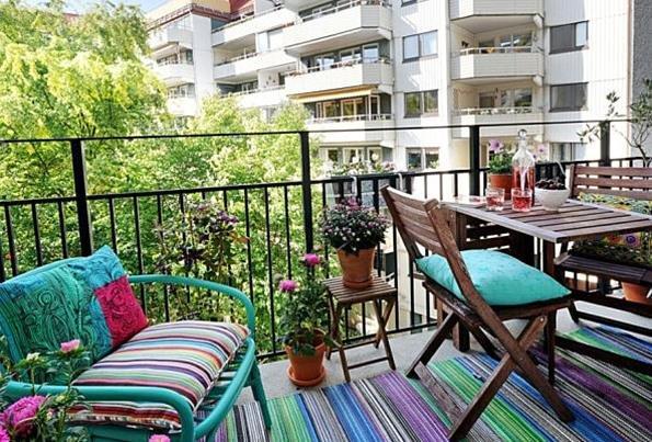 Текстиль для балкона