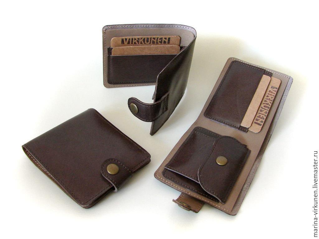 Кожаные портмоне своими руками фото 42