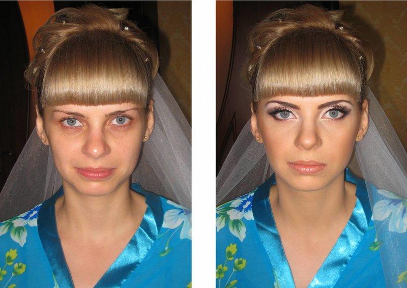 Легкие прически и макияж и