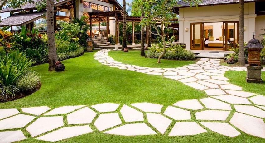 Садовые дорожки из бетона своими руками с малыми затратами фото 52