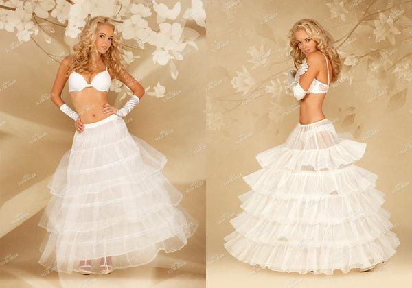Как сделать очень пышное платье