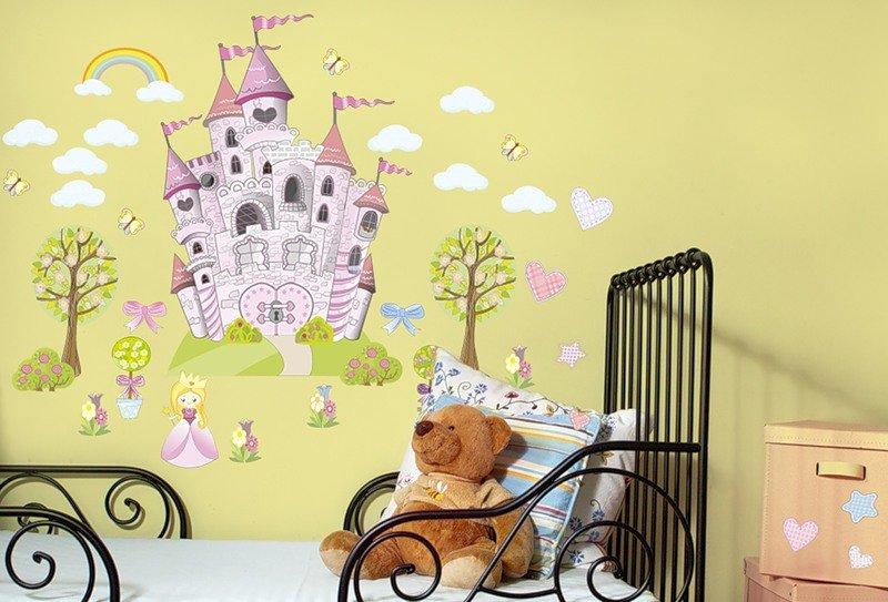 Рисунки на стенах детская комната для девочки фото