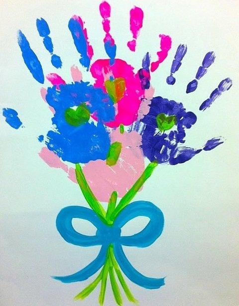 Рисунок для мамы своими руками 162