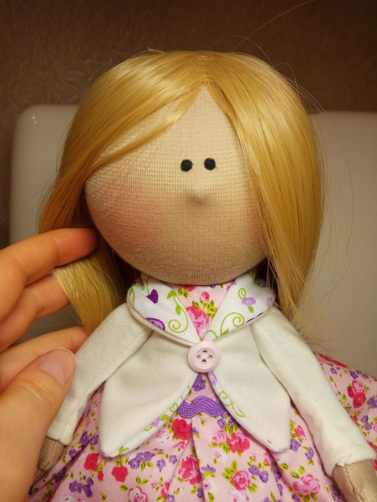 Кукла сшитая своими руками мк