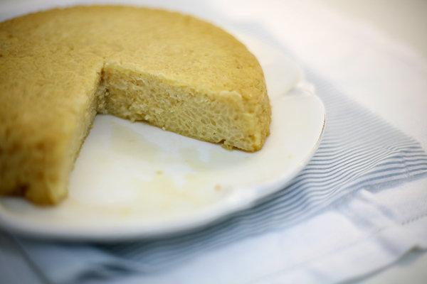 Пирог из риса рецепт