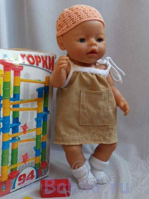 Своими руками одежда для беби бона