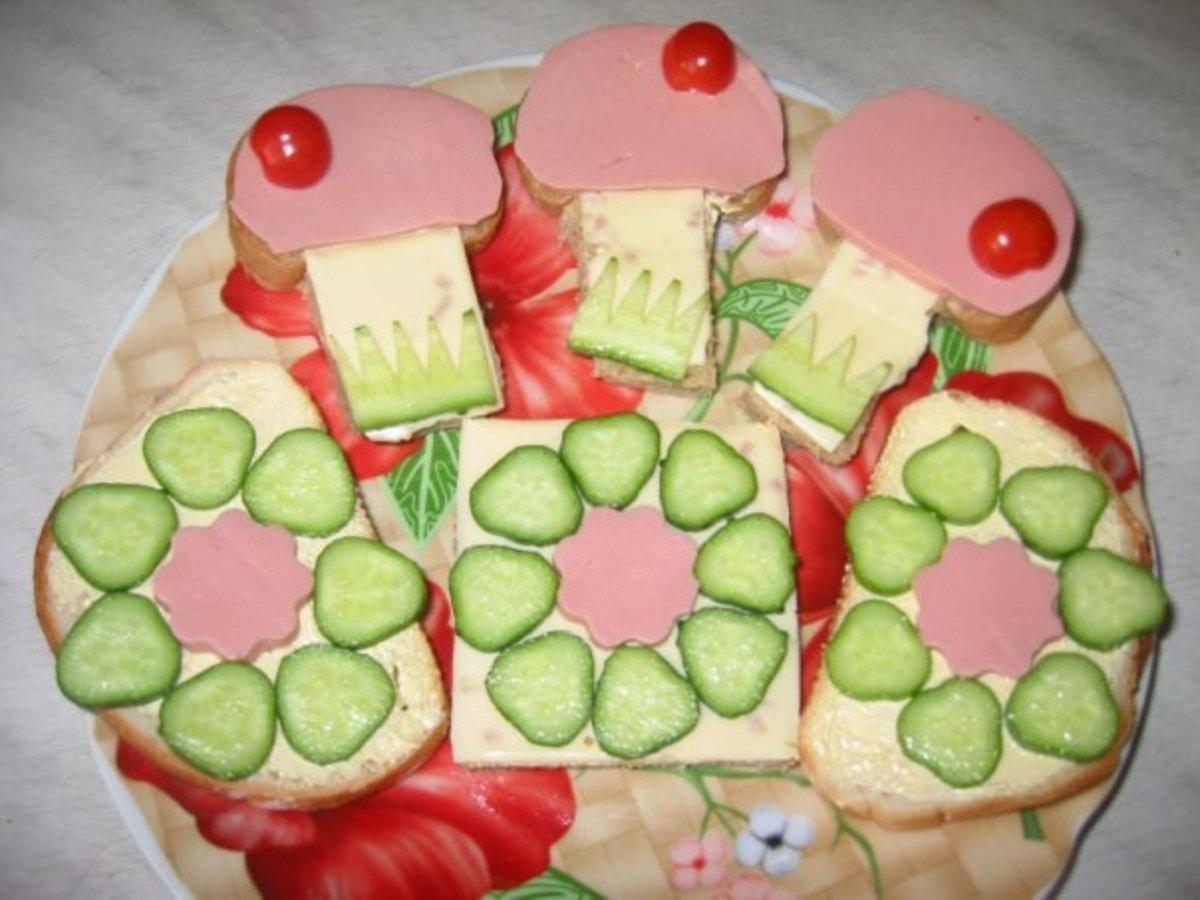 Как сделать самой бутерброды 754