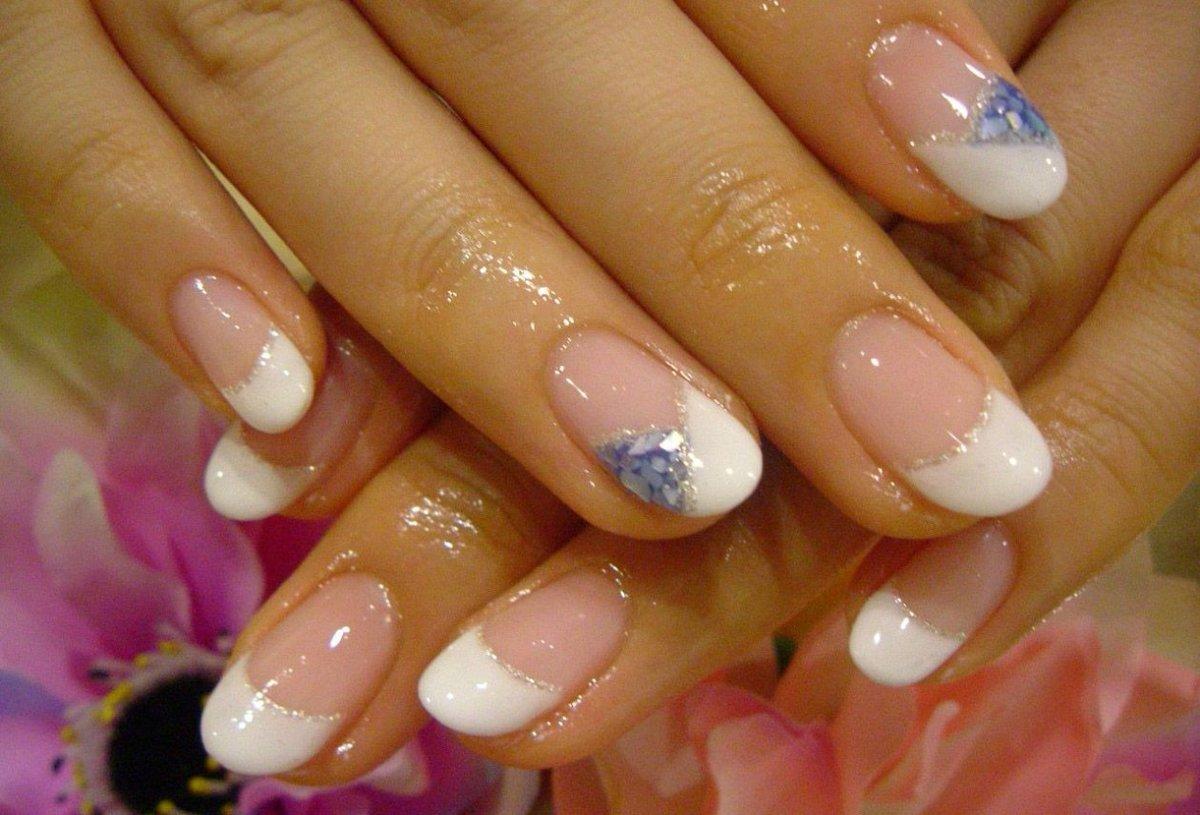 Маникюр средние ногти 97