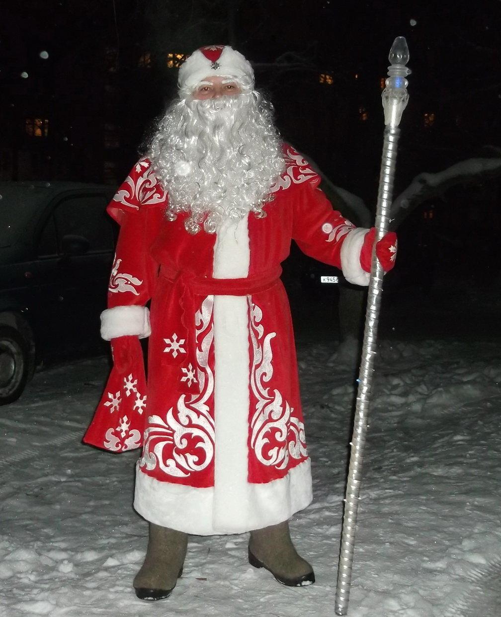 Как можно сделать костюм деда мороза своими руками 73