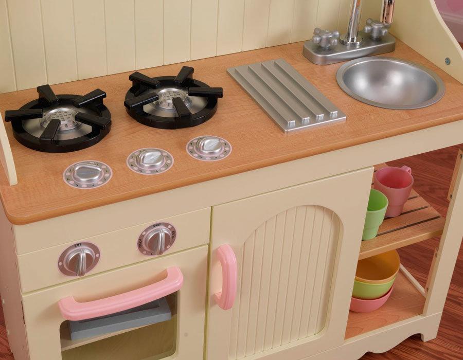 Детская кухня для девочек из дерева своими руками 81