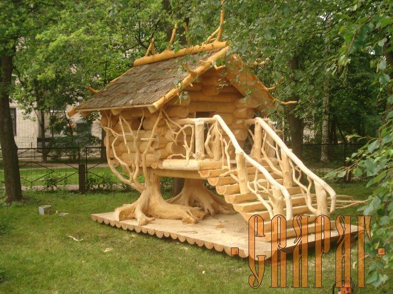 Фото детских поделок из дерева