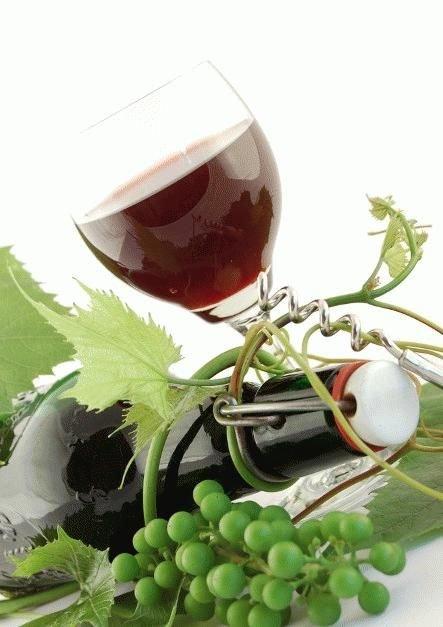 Как сделать домашнее вино с красного винограда