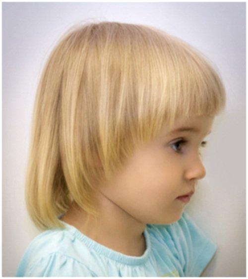 Детские стрижки девочки короткие