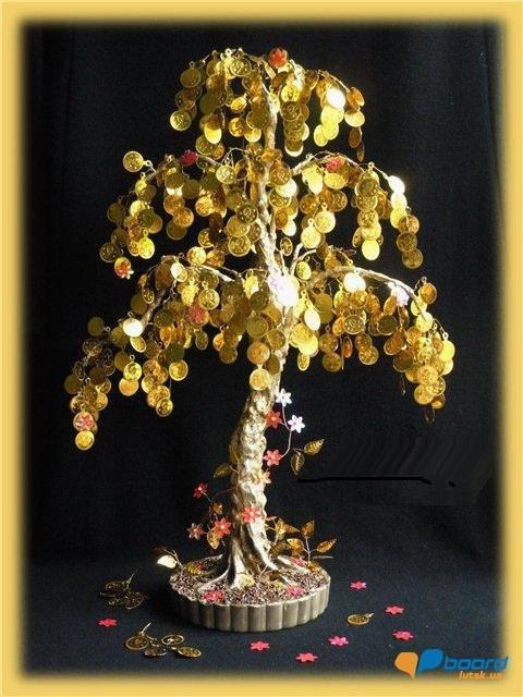 Денежное дерево сделать своими руками фото 86