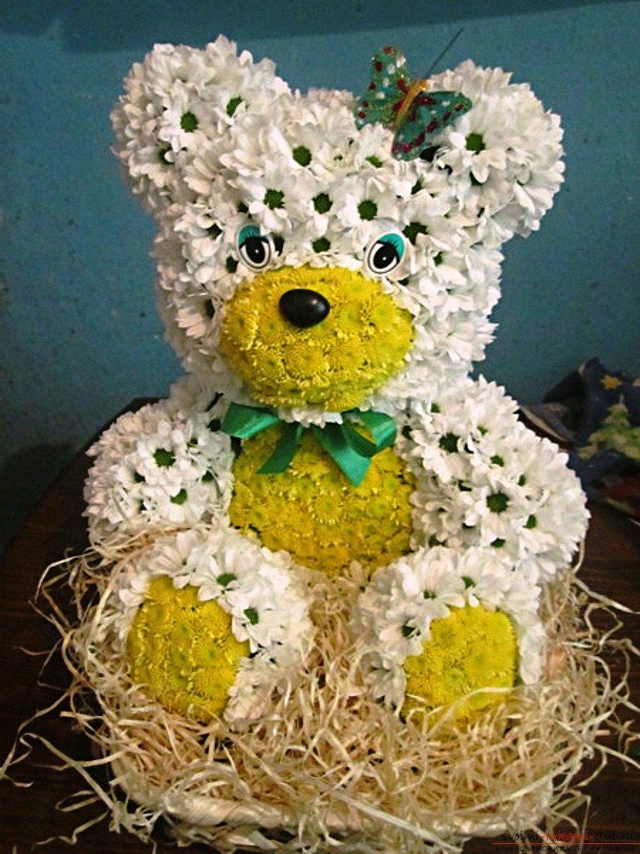 Поделка из цветов своими руками для детей 82