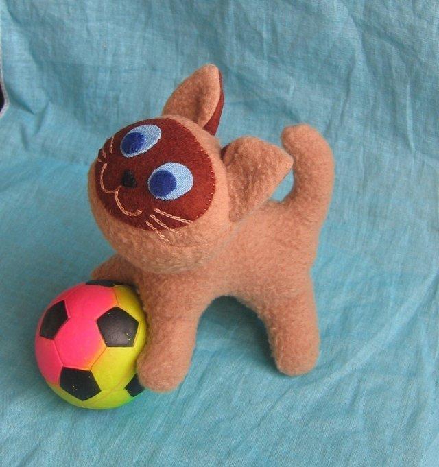 Мягкие игрушки из драпа своими руками