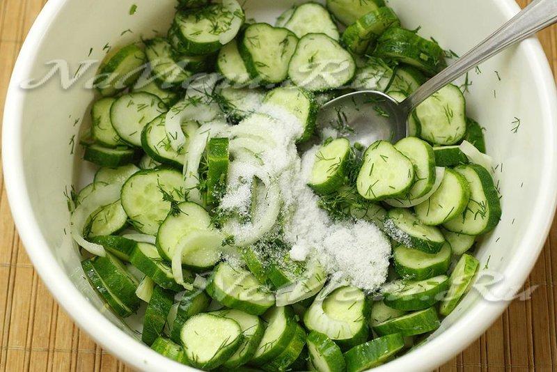 Салат из лука на зиму