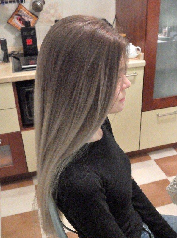 В какой цвет покрасить волосы если ты русая