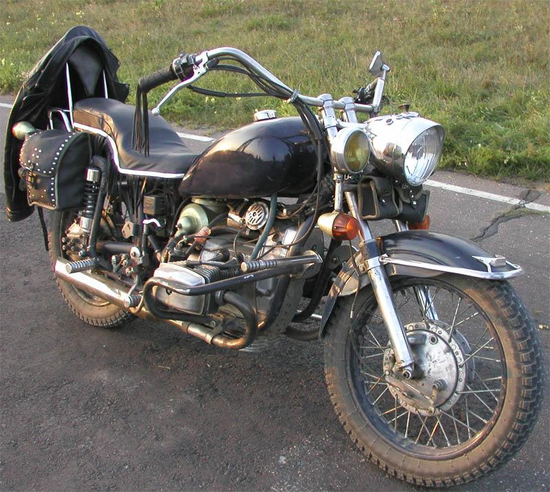 Тюнинг мотоцикла днепр своими руками 8