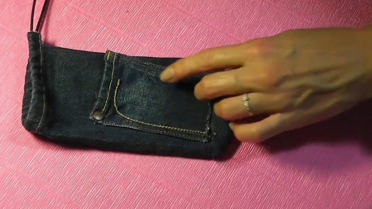 Как сделать карман для телефона 983