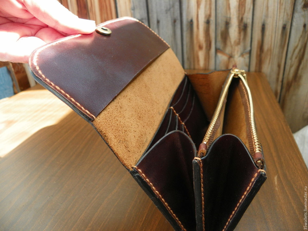 Кошельки и сумки из кожи своими руками
