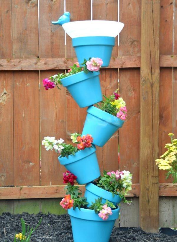 Подставка для дачи для цветов своими руками
