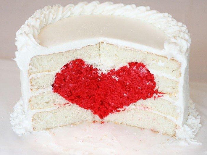 Торт сердечком своими руками 44