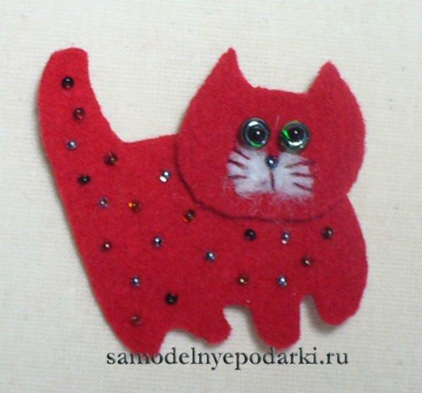 Сделать поделку котика своими руками