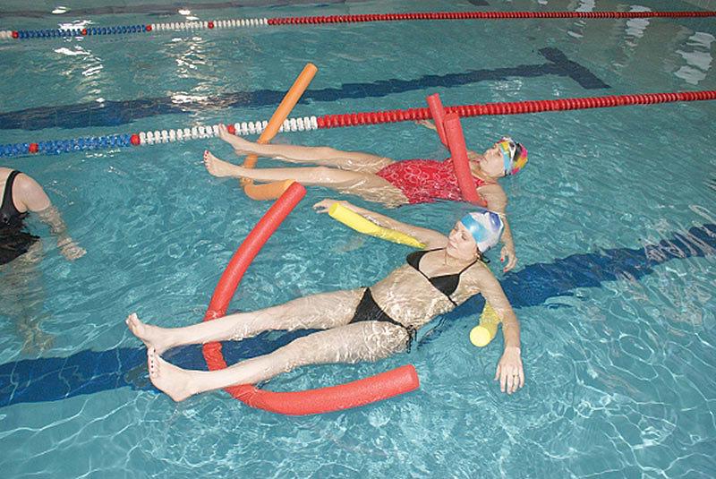 Гимнастика в бассейне для беременных 37