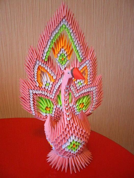 Поделки из модульного оригами. мастер классы