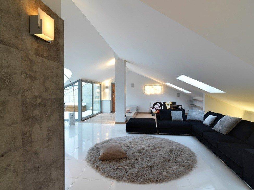 Фото дизайн квартир мансардный этаж