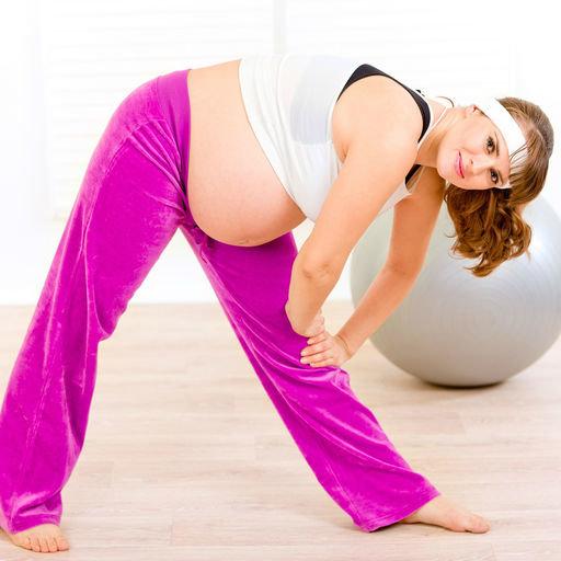 Дренажная гимнастика для беременных 40