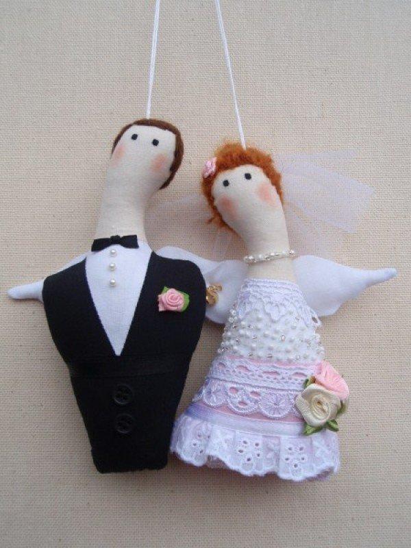 Своими руками невеста и жених кукла сшить 97