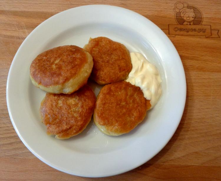 Оладьи без яиц на воде и молоке