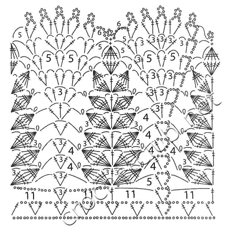 1001 схема вязания крючком 15