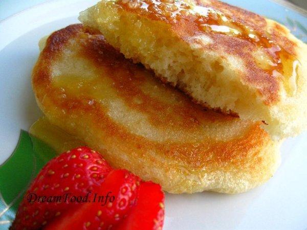 Оладьи на прокисшем молоке пышные рецепт с фото пошагово с содой