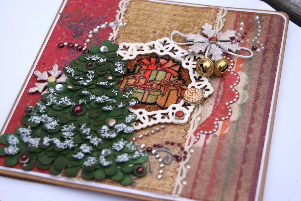 Картинки новогодние своими руками 18