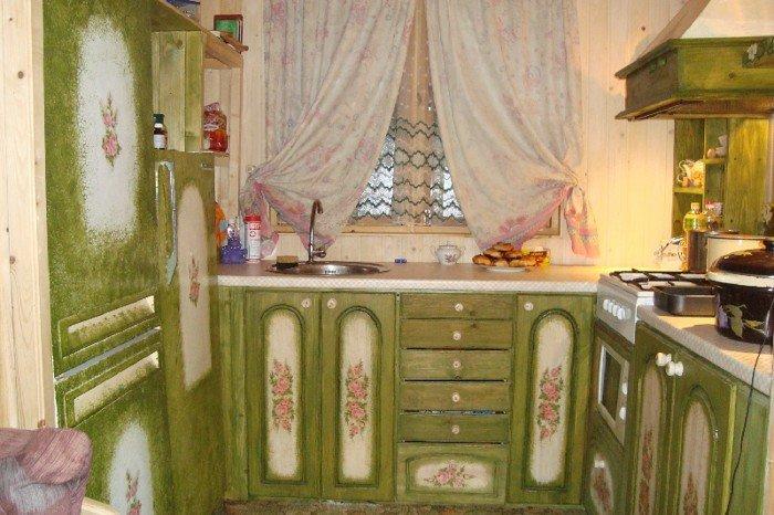 Как отреставрировать кухню фото
