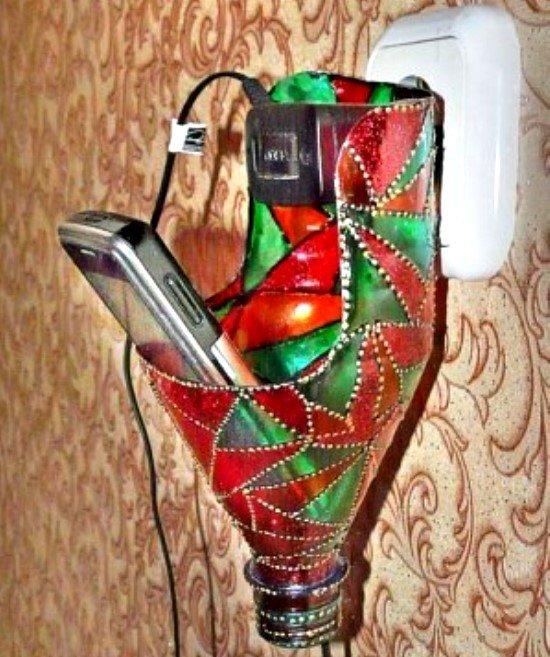 Подарок из бутылок папе 290