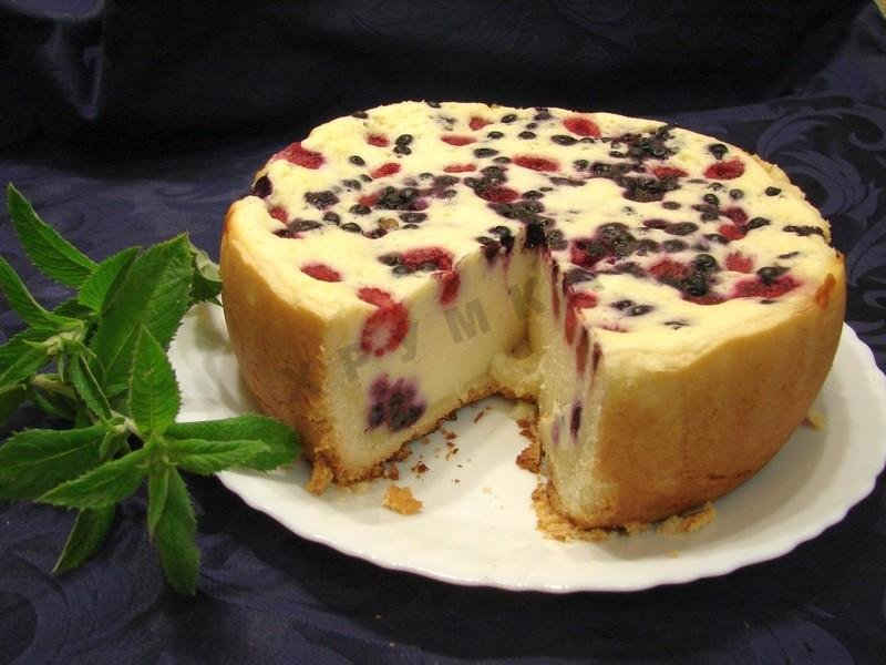 Торт в мультиварке из творога