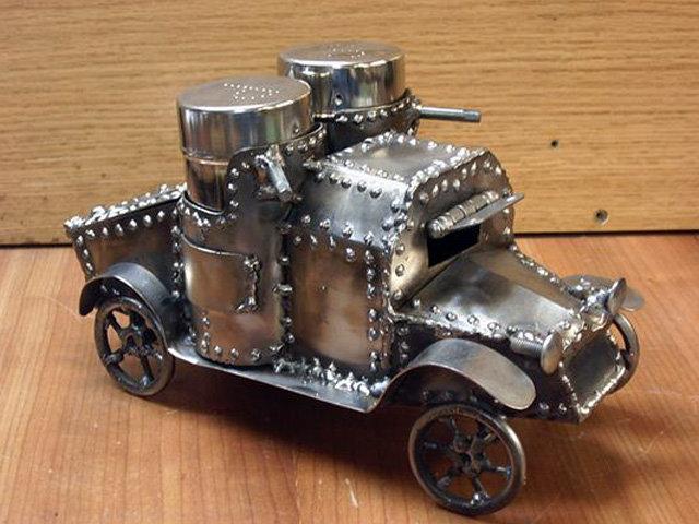 Машины своими руками из металла