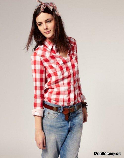 Рубашки женские с чем носить 2017