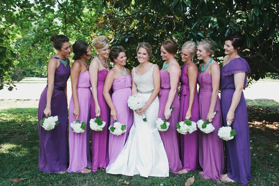 Свадьбы лавандового цвета
