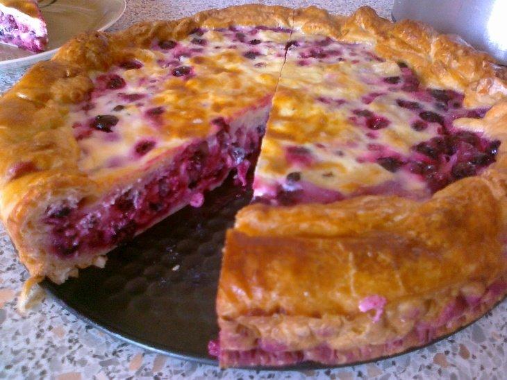 Пирог с красной и черной смородиной рецепты