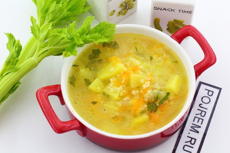 Пшенный суп рецепт с фото