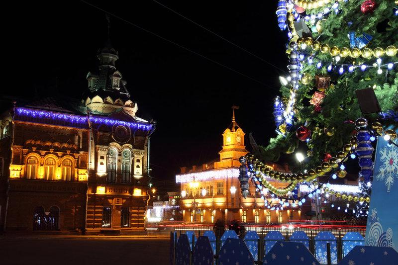 Столица нового года во владимире