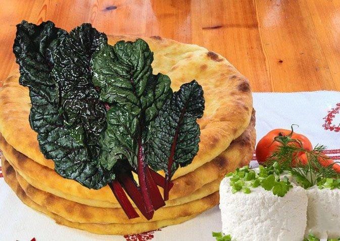 Рецепт осетинских пирогов из свекольных листьев